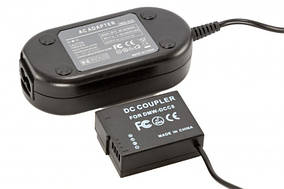 Сетевой адаптер DMW-AC8 + DMW-DCC12 (совместим с аккумулятором DMW-BLF19) для камер Panasonic питание от сети