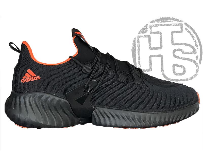 Женские кроссовки Adidas Alphabounce Instinct Black Orange