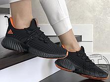 Женские кроссовки Adidas Alphabounce Instinct Black Orange, фото 2