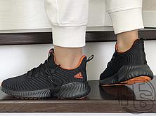 Женские кроссовки Adidas Alphabounce Instinct Black Orange, фото 3