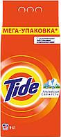 Стиральный порошок Tide Автомат Альпийская свежесть, для белых тканей, 9 кг