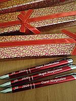 Именная ручка с лазерной гравировкой. Металлический корпус. Оригинальный подарок, сувенир друзьям и коллегам
