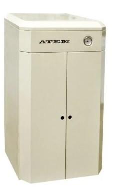 Универсальный котел Житомир-9 КС-ГВ-010 СН / АОТВ-10 (комбинир.уголь-газ работает одновременно) дым,SIT-Италия