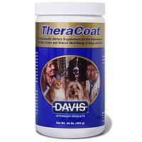 Davis TheraCoat диетическая добавка для шерсти собак и котов, 0.454 кг
