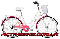 """Дорожный велосипед Аист (AIST) AVENUE 1.0 26"""" с корзиной"""
