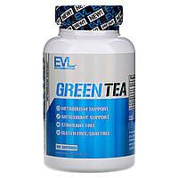ОРИГИНАЛ!Жиросжигатель Evlution Nutrition,экстракт зеленого чая,100 растительных капсул из США