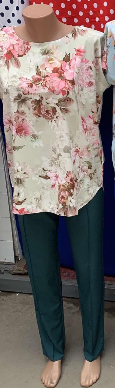 Брючный костюм для женщин размеры  44-46,48-50,52-54,56-58,62-64