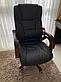 """Офисное компютерное кресло PRESIDENT Pemium Черное""""""""ПОЛЬША, фото 2"""