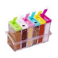 Баночки для специй Seasoning Six Piece Set