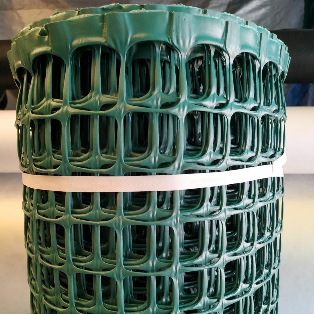 Сетка пластиковая садовая 20x20мм рулон 1.5м x 20м