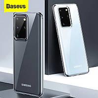 Силиконовый чехол Baseus Simple Series для Samsung Galaxy S20, фото 1