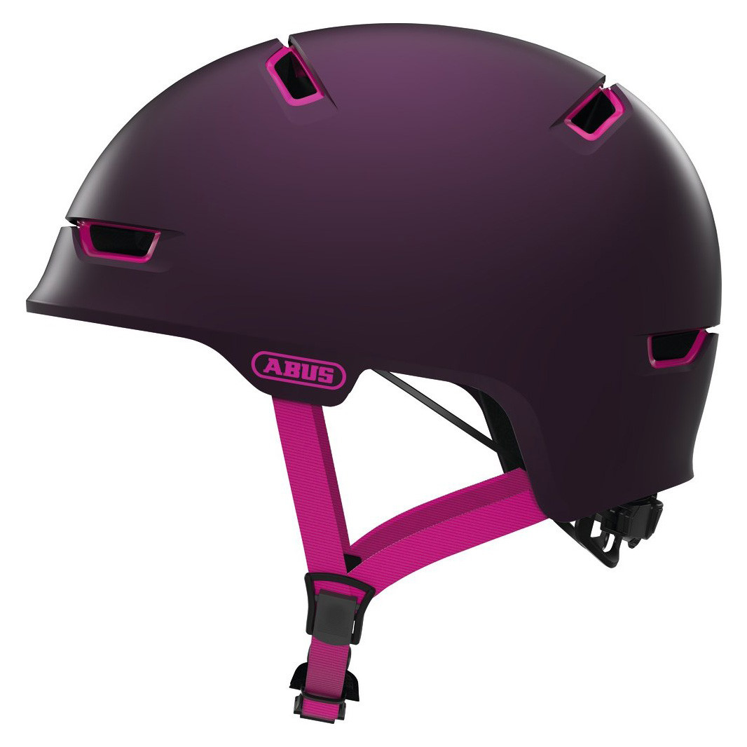 Шолом велосипедний ABUS SCRAPER 3.0 ACE M 54-58 Magenta Berry