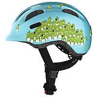 Велосипедний дитячий шолом ABUS SMILEY 2.0 M 50-55 Blue Croco