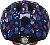 Велосипедний дитячий шолом ABUS SMILEY 2.1 S 45-50 Blue Maritim, фото 5