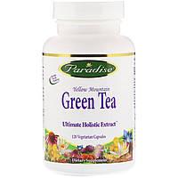 ОРИГИНАЛ!Жиросжигатель Paradise Herb,экстракт зеленого чая,120 растительных капсул производства США