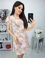 Летнее платье женское Софт Размер 42 44 46 48 Разные цвета