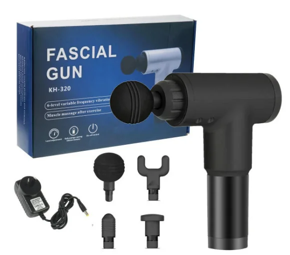 Массажёр  Fascial Gun KH-320  Ручной массажер пистолет для тела