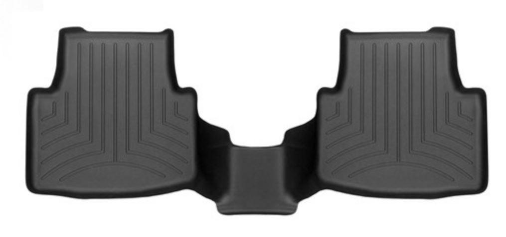 Ковры резиновые WeatherTech VW Passat 2015+  задний черный