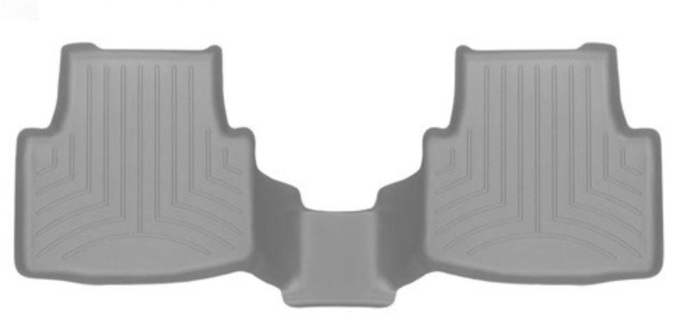 Ковры резиновые WeatherTech VW Passat 2015+  задний серый