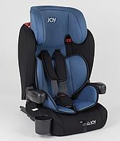 Детское автокресло JOY ISOFIX 25790 (9-36 кг) черно-голубой