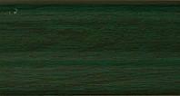 Плинтус с кабель  каналом и мягким краем. BS14 Зеленый
