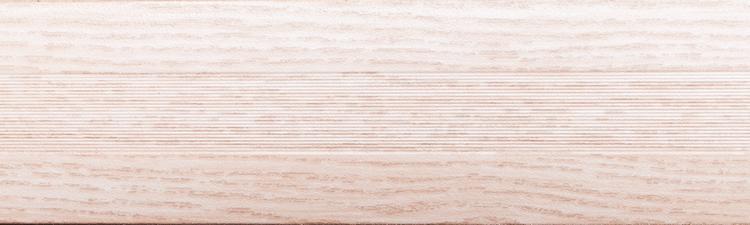 Порог алюминиевый 6А 0,9 метра дуб белый 5х30мм скрытое крепление