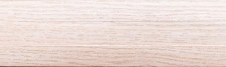 Порог алюминиевый 6А 0,9 метра дуб белый 5х30мм скрытое крепление , фото 2
