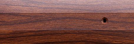 Порог алюминиевый 6А 0,9 метра тик 5х30мм скрытое крепление , фото 2