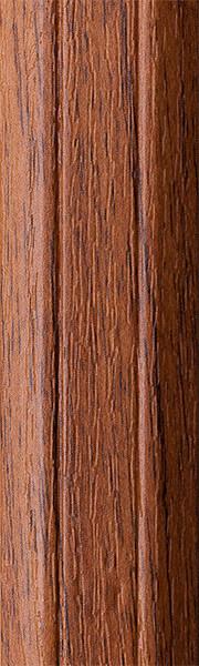Порог алюминиевый 6А 0,9 метра орех лесной 5х30мм скрытое крепление
