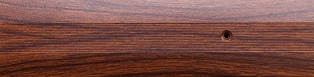 Порог алюминиевый 6А 1,8 метра тик 5х30мм скрытое крепление , фото 2