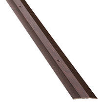 Порог алюминиевый 6А 1,8 метра венге 5х30мм скрытое крепление , фото 2