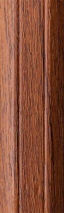 Порог алюминиевый 6А 1,8 метра орех лесной 5х30мм скрытое крепление , фото 2