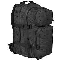 Рюкзак штурмовой Mil-Tec Assault Lazer Cut black 20 л, фото 1