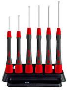 Набор прецизионных отверток TORX® T4 T5 T6 T7 T8 T9 PicoFinish Wiha 42997