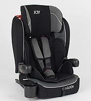 Детское автокресло JOY ISOFIX 51226 (9-36 кг) черно-серое