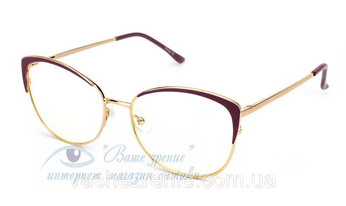 Очки женские для зрения +/- Blue Blocker Код:2264