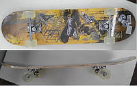 Скейтборд 03438 колеса PU, 79*20 см. pro