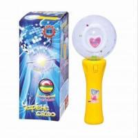 Микрофон вертушка 3366 свето музыкальный, мікрофон. pro