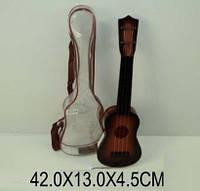 Гитара на струнах 8019 чехол 42см сувенир игрушка. pro