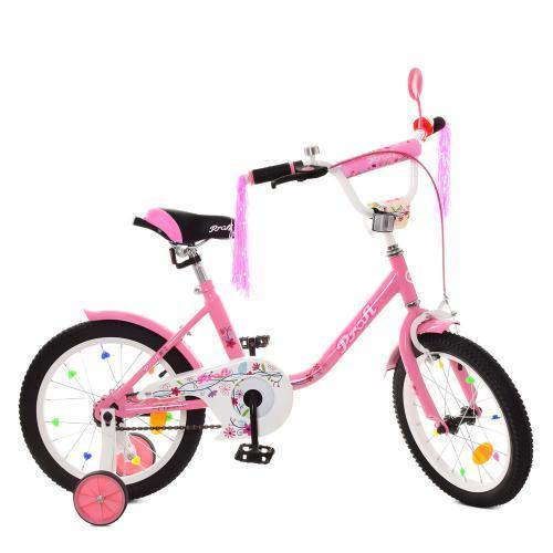 Велосипед детский Profi Flower Y1881 розовый