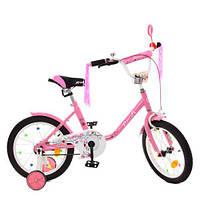 Велосипед детский Profi Flower Y1881 розовый, фото 1