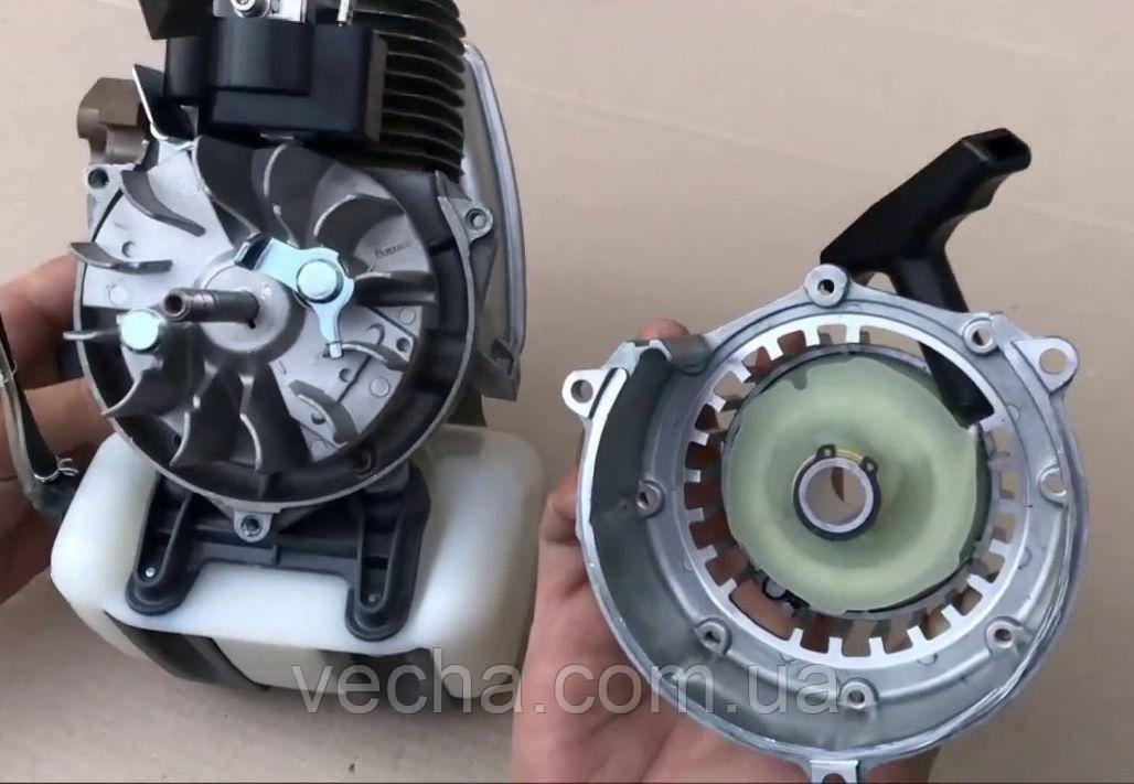 Оригинальный стартер Winzor для бензокосы Oleo-Mac Sparta 25/250T (с ребрами жесткости на четыре зацепа)