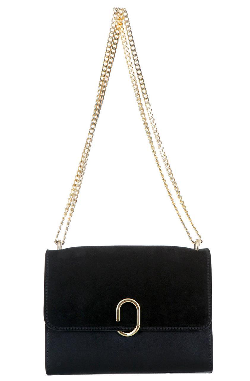 Компактная женская сумка GISA Diva's Bag цвет черный