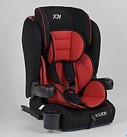 Детское автокресло JOY ISOFIX 96710 (9-36 кг) черно-красное