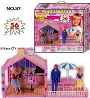 Домик для Барби 87 сборный, для ляльки. pro