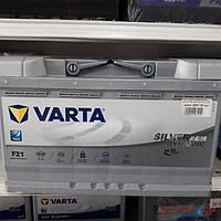 Аккумулятор автомобильный 80Ah-12v VARTA AGM SD (F21)