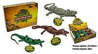 Крокодил Животные резиновые 7206, длина 30см. pro