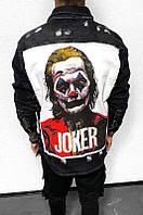 Мужской джинсовый пиджак Joker/Джокер (черный) - Турция 5563-3419