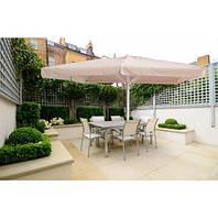Зонт для кафе сада торговли 3х3м бежевого цвета, фото 1