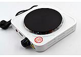Электроплита 1 комфорка дисковая WimpeX WX-100A-HP, фото 3